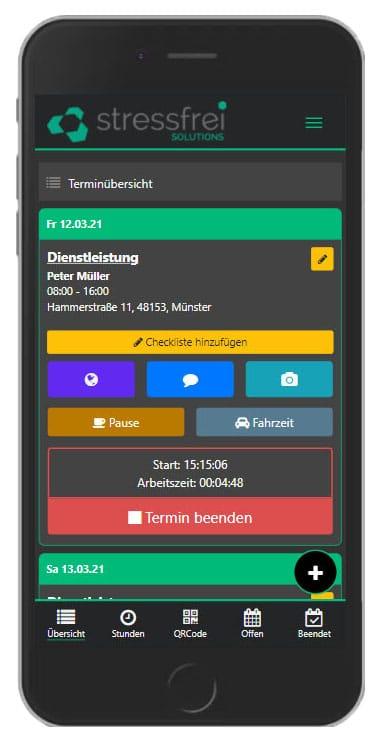 Zeiterfassung App für Arbeitgeber